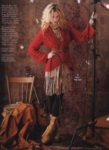 Клубничный кардиган Vogue