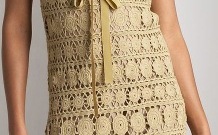 Платье крупно